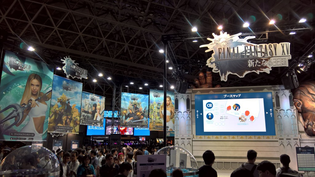 Final Fantasy XV:n mobiiliversio oli näyttävästi esillä